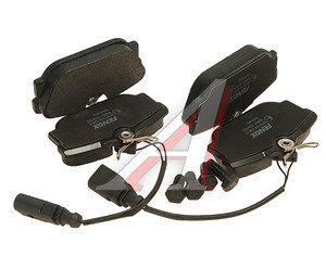 Колодки тормозные VW Sharan,T4 (96-) задние (R16) (4шт.) FENOX BP43105, GDB1326,