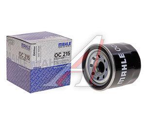 Фильтр масляный DAEWOO Matiz (98-) CHEVROLET Aveo (03-) (1.2) MAHLE OC215, 25183779