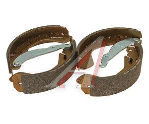 Колодки тормозные DAEWOO Nexia,Espero,Lanos,Nubira (88-) задние барабанные (4шт.) FENOX BP53023, GS8543, 96430417
