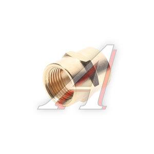 """Переходник для компрессора F1/2""""х1/2"""" соединитель внутренняя резьба FF08/08, PN-FF08/08"""