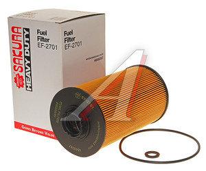 Фильтр топливный HITACHI ZX-series SAKURA EF2701, FF5786/P502423, 17266014530/4676385/KHH12030