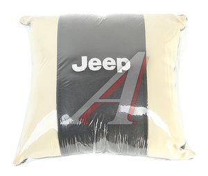Подушка автомобильная JEEP эко-кожа М074