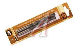 Сверло по металлу 9.5х125мм (2шт.) ТЕХМАШ Cв. 9.5мм (2шт), 13628