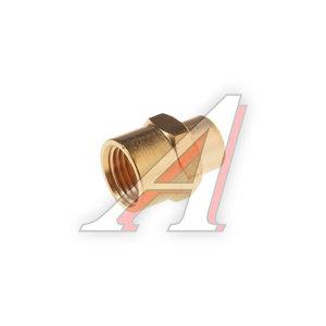"""Переходник для компрессора F1/4""""х1/8"""" соединитель внутренняя резьба в блистере ROCK FORCE RF-FF04/02"""