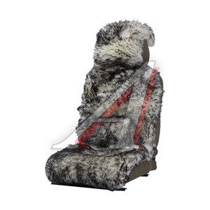 Накидка на сиденье мех натуральный (австралийская овчина) бело-черная 1шт. Jolly Extra PSV 121858, 121858 PSV