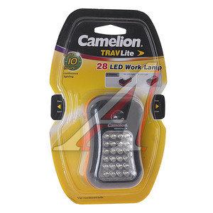 Лампа переносная светодиодная с фонарем 24+4LED 3хААА CAMELION C-7280