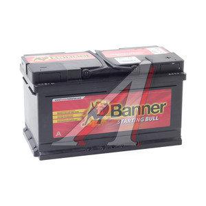 Аккумулятор BANNER Starting Bull 80А/ч обратная полярность, низкий 6СТ80 580 14, 580 14