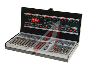 "Набор бит 1/2"" 3/8"" TORX T20-55 HEX H4-12мм SPLINE M5-12 2 держателя в кейсе 40 предм. ROCK FORCE RF-4401C"