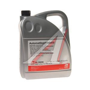 Масло трансмиссионное ATF для АКПП VW AUDI 5л FEBI 39096, G060162A2