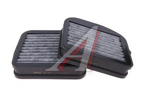 Фильтр воздушный салона MERCEDES S (W220),E (W210) угольный (2шт.) MAHLE LKK72/S, A2108300318