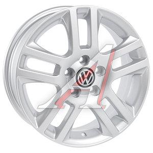 Диск колесный литой VW Polo Sedan R15 VW41 S REPLICA 5х100 ЕТ40 D-57,1