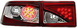 """Фонарь задний ВАЗ-2110,12 PRO SPORT """"Глаз орла"""" светодиодный хромированный комплект RS-04624, 2110-3716010"""