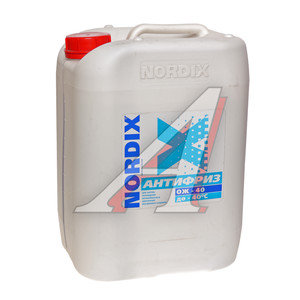 Антифриз синий -40C 10л NORDIX NORDIX