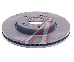 Диск тормозной HYUNDAI i30 (08-) KIA Ceed (08-) (R15) передний (1шт.) FEBI 31470, DF4865S, 51712-1H100