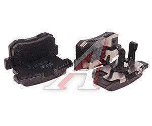 Колодки тормозные HONDA Accord (2.4) (08-), CR-V (2.2) (05-06) задние (4шт.) TRW GDB3438, 43022-TL0-G51