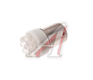 Лампа светодиодная 12VхR21W (Ba15s) белая 9 диодов МАЯК 12T15-W/9LED,