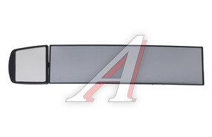 Зеркало салонное панорамное 280+70мм антиблик 2 в 1 Black АВТОСТОП AB-35758B