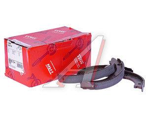 Колодки тормозные NISSAN Teana,Z350 стояночного тормоза (4шт.) TRW GS8730, 44060-8J00K, D40F0-AR06K