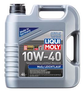 Масло моторное MoS2-Leichtlauf п/синт.4л LIQUI MOLY LM SAE10W40 1917, 84196,