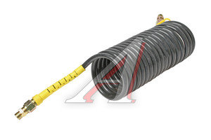 Шланг пневматический витой М16 L=5.5м (желтый) AIR FLEX М16 L=5.5м (желтый), HH-064-М16-5,5M-PA yell