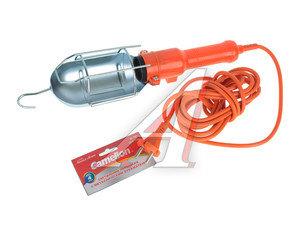 Лампа переносная 220V с выключателем провод 4м оранжевая CAMELION Camelion W-001 YJD-A-1, YJD-A-1,
