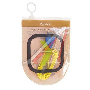Кабель iPhone (5-) 1м желтый OXION OX-DCC019YW