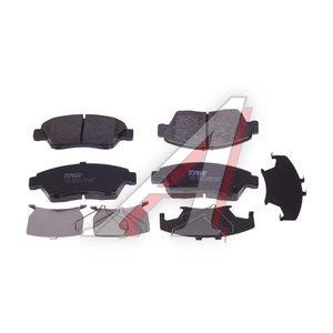 Колодки тормозные HONDA Civic 5,6,7 передние (4шт.) TRW GDB3478, 45022-SNC-E00