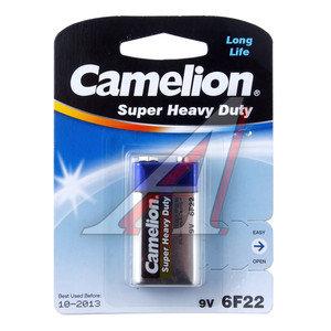 Батарейка KRONA 6F22 9V Saline блистер (1шт.) CAMELION C-6F22,