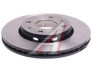 Диск тормозной VOLVO S40 (95-03),V40 (95-04) передний (1шт.) TRW DF4054, 30818027