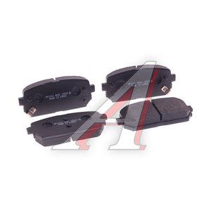 Колодки тормозные KIA Carens (06-) задние (4шт.) HSB HP1041, GDB3462, 58302-1DA00