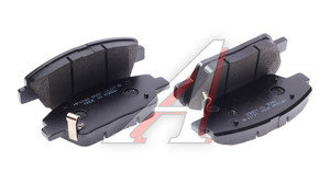 Колодки тормозные KIA Optima задние (4шт.) HSB HP1044, 58101-2TA00