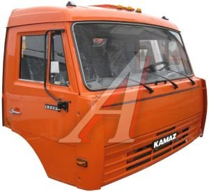 Кабина КАМАЗ-53205 в сборе (без спального места,высокая крыша) (ОАО КАМАЗ) 53205-5000011