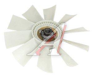 Вентилятор КАМАЗ-4307,ПАЗ 520мм с вязк. муфтой в сборе (дв.CUMMINS B3.9 140) BORG WARNER 020003344