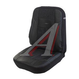 Авточехлы универсальные экокожа (AIRBAG 3 молнии карманы) черные комплект Absolute PSV 115847, 115847 PSV