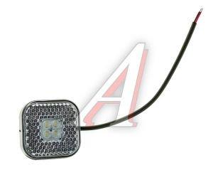 Фонарь габаритный светодиодный белый (аналог DAF) ТЕХАВТОСВЕТ 110.3731-01