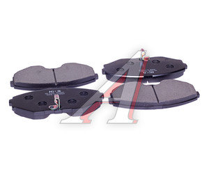 Колодки тормозные NISSAN Maxima (CA33) (00-) передние (4шт.) SANGSIN SP1600, GDB3273,