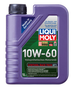 Масло моторное SYNTHOIL RT синт.1л LIQUI MOLY LM SAE10W60 1943, 84183