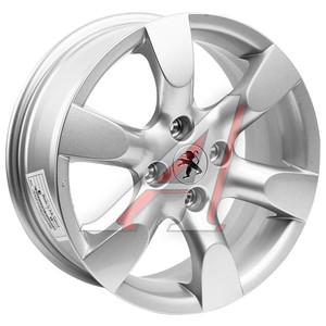 Диск колесный литой PEUGEOT 307,308,408 R16 PG19 S REPLICA 4х108 ЕТ31 D-65,1
