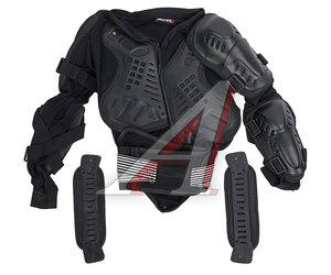 Куртка для мото защитная (черепаха) черная L MICHIRU L MICHIRU, 4680329010353,
