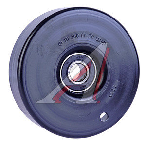 Ролик приводного ремня SSANGYONG Actyon(06-),Kyron(07-),Actyon Sports(06-),Rexton(02-)(E23) натяж.OE 1112000070