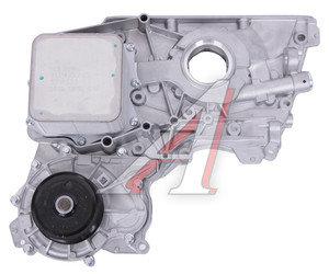 Крышка двигателя ГАЗ-3302 дв.CUMMINS ISF 2.8 передняя с охладителем, вод.и масляным насосом СБ OE 5270239/5268351/5271533, 5302884