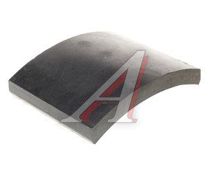 Накладка тормозной колодки КАМАЗ-6522 переднего моста MADARA ТИИР 340-003-2441, 41-049-2441