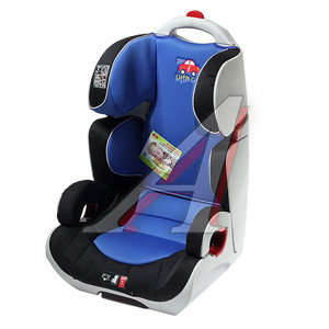 Автокресло детское 15-36кг (II-III) 3-12лет сине-черное ES06 S02 Little Car PSV 119545, 119545 PSV