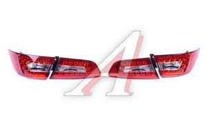 Фонарь задний MITSUBISHI Lancer 10 стиль AUDI Q5 светодиодный,прозрачный,красный комплект PRO SPORT RS-08019