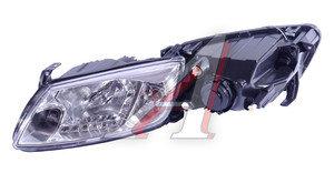 Фара блок ВАЗ-2190 дневные ходовые огни, хром комплект PRO SPORT RS-09942