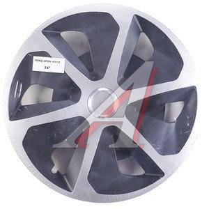 Колпак колеса R-16 декоративный хром микс черный комплект 4шт. РОКО ХРОМ МИКС РОКО ХРОМ МИКС R-16