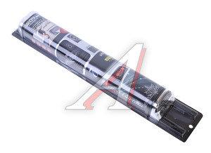 Шторка автомобильная для боковых стекол 60см (L) роликовая серебро карбон сетчатая 2шт. CARBON 1701336-266 SL