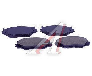 Колодки тормозные LEXUS IS (05-),GS300,GS430,GS450H передние (4шт.) SANGSIN SP1543, GDB3410, 04465-53040/04465-53020