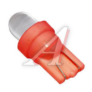Лампа 12VхW5W (W2.1х9.5d) ROUND RED 1 свет-од MEGA ELECTRIC ME-0407R,