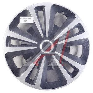 Колпак колеса R-16 декоративный ринг микс черный комплект 4шт. ТЕРРА ХРОМ МИКС ТЕРРА ХРОМ МИКС R-16